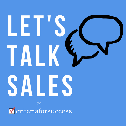Let's Talk Sales Podcast